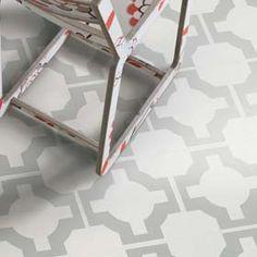 Neisha Crosland Parquet Sage vinyl tiles from Harvey Maria Linoleum Flooring, Stone Flooring, Bathroom Flooring, Kitchen Flooring, Dark Flooring, Garage Flooring, Luxury Vinyl Flooring, Vinyl Tiles, Floor Design