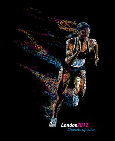 London 2012: Chariots of color by tsevis, via Flickr