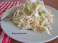 Country Cole Slaw. Ingredients: 2 bags (14 oz.) Cole Slaw Mix 1/3 cup white sugar ¼ cup milk ½ cup mayonnaise ¼ cup buttermilk 1 tsp. Dijon mustard 1 ½ tbsp. apple cider vinegar 1 ½ tbsp. lemon juice ½ tsp. onion powder (or 2 tbsp. freshly grated onion) ½ tsp. salt 1 tsp. freshly ground black pepper