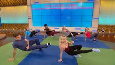 Tracy Anderson's 7-Minute Morning Workout: Need a morning boost? Start the coffee brewer and give yourself seven minutes for a total-body workout. Celebrity fitness trainer Tracy Anderson shows you how with moves like the kick-across lunge, crab roll, and Spider-Man side step.