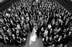 Gather your guests after the wedding for a quick photo of the ENTIRE group