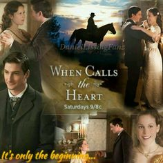 """""""It's only the beginning.."""" When Calls The Heart"""