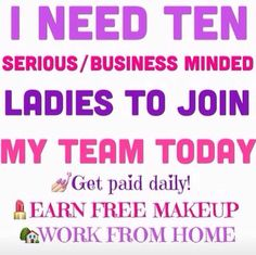Looking to replace or increase your income? Look no further! Ground breaking opportunity at it's best! We are launching on October 1st. Be one of the first presenters and change your life! #empower #uplift #changeyourlife #beyounique #beaforceforgood #3d #fiber #Lashes #makeup #Mascara #younique  Http://youniqueproducts.com/NinaMcGrath
