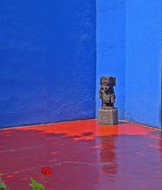 La casa Azul - Frida's home in #Mexico City