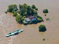 Hochwasser in Sachsen-Anhalt - Pretzsch
