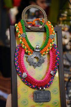 handmade necklace #traditional #navratri
