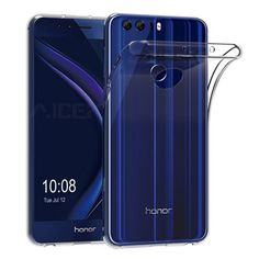 Ultra Thin Transparent Gel TPU Case For Huawei Honor 8 Lite / Honor 9 / Honor Case bumper Crystal Clear Soft Silicone Cover Sony Xperia, Bump, New Mobile Phones, Gelato, Smart Watch, Cover, Mon Cheri, Portable Huawei, Iphone 11