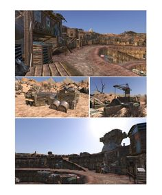 SKIES. Some game locations -  Kimari and Krater cities.