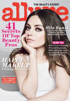 Mila Kunis on the Cover of Allure March 2013