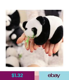 Soft Toys Kawaii Cartoon Plush Panda Keychain Keyring Bag Pendant Key Ring Chain Doll Gift #ebay #Home & Garden