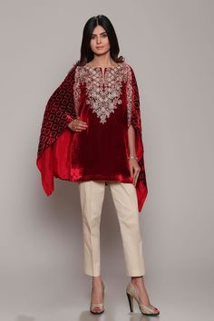 Latest Party Wear Dresses Embroidered Suits 2018-19 Designs by Chinyere