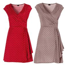 Short Sleeve Dresses, Dresses With Sleeves, Swing Dress, Rockabilly, Pin Up, Polka Dots, Prom, Mini, Stuff To Buy