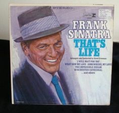 Frank Sinatra That's Life Lp Near Mint
