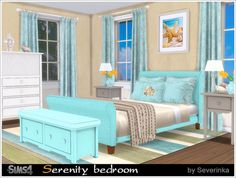 Sims 4 CC's - The Best: Bedroom by Severinka