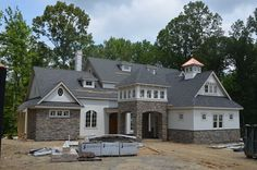 The 2014 Richmond Symphony Designer House is in its final stages of completion by Richmond luxury builder, Bel Arbor Builders. Soon 20+ designers will begin their transformation of the home that will open for tour in September. Check out the details on the Designer House at http://www.hallsley.com/richmond-symphony-designer-house  and www.rsol.org