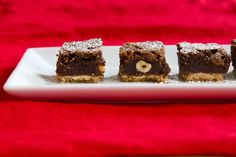 Nutella Shortbread Brownies