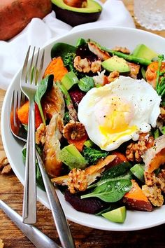 Spring Superfood Smoked Mackerel Salad