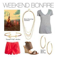 Stella & Dot - Weekend Bonfire #Stelladot #StelladotStyle #WomensFashion #Summer #PolyvoreByXOKnot #Polyvore