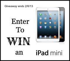 i pad mini giveaway