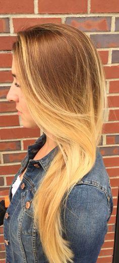 Gorgeous long, blond
