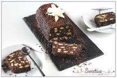 Κορμός Σοκολάτας με Μπισκότα - Μωσαικό   Chocolate Biscuit Cake - Sweetius Desserts, Food, Ideas, Tailgate Desserts, Deserts, Essen, Postres, Meals, Dessert