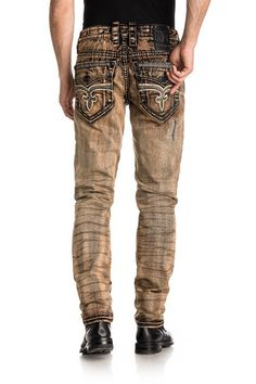 Rock Revival Official Website - Shop for the latest Rock Revival jeans, shorts, and jackets Biker Jeans, Jeans Pants, Shorts, Snake Design, Moto Style, Rock Revival Jeans, Tapered Jeans, Denim Fashion, Jeans Style