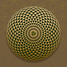 Universal Connection Geometric Eye #theSOLspace SOL-Art © All Rights Reserved Sacred Geometry Art