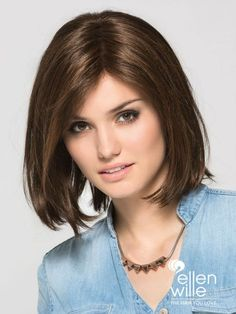Straight Short Wigs Women's Side Parting Brownish Black Synthetic Hair Wigs With Inward Ends & Beauty > Women\'s Wigs > Synthetic Wigs > Short Wigs Bob Style Haircuts, Layered Bob Hairstyles, Wig Hairstyles, Hairstyles 2018, Natural Hair Growth, Natural Hair Styles, Long Hair Styles, Short Hair Wigs, Human Hair Wigs