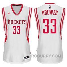 1b70ae8f18c Houston Rockets #33 Corey Brewer 2014-15 New Swingman White Jersey, Price:  $68.00 - Stephen Curry Shoes Under Armour Store Online