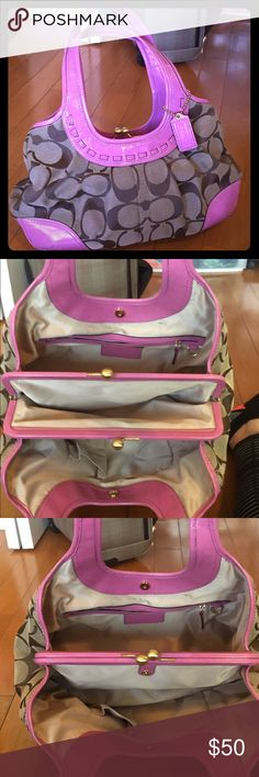 Coach purse Barely used, no marks. Perfect for spring Coach Bags Totes