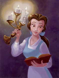 Disney: Belle (From Beauty and the Beast) Art Disney Belle, Film Disney, Arte Disney, Disney Fan Art, Disney Love, Disney Magic, Lumiere Beauty And The Beast, Disney Beauty And The Beast, Bell Art