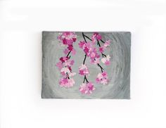 Original floral mini canvas painting by artist Helen Garfield. Handmade Home Decor, Handmade Gifts, Mini Canvas, Canvas Artwork, New Baby Gifts, Art Blog, Painted Rocks, Beautiful Flowers, New Baby Products