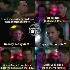 Supernatural Series, Winchester Supernatural, Supernatural Destiel, Castiel, Spn Memes, Funny Memes, Netflix Tv Shows, Geek Humor, Super Natural