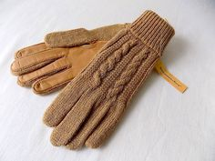 Vintage Abercrombie & Fitch Gloves by Fownes with Tags One Size by EyeSpyGoods on Etsy