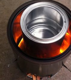 Make Your Own Hobo Stove From Scrap » Online Survival Blog & Survival News