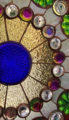 Beautiful stained glass creation!