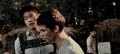 THE MAZE RUNNER GETTING READY FOR SCORCH TRIALS
