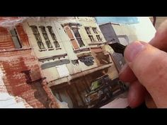 ▶ Street Painting in Indiana with James Gurney - YouTube