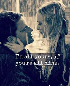 Let me be your one!!