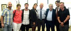 Encuentro  Lama Ole Nydahl con presidente Mujica
