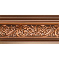 Faux Tin Cornice - Return Policy Made to order in India. Consider stock items for faster delivery at a discounted price and also the ability to return them within 30 da Best Wood For Carving, Wood Carving, Damask Decor, Painted Staircases, Chip Carving, Ceiling Tiles, Cornice, Carving Designs, Textile Patterns