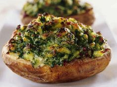 Grönkålsfyllda potatisar
