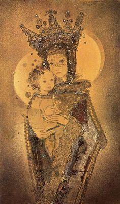 Sulamith Wulfing (1901-1989)  — Madonna and Child (672×1137)