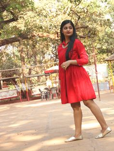 7 ways to make a statement with red.  #OOTD #fashion #style #india #mumbai #fashionblogger