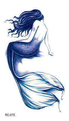 Waterproof Temporary Tattoo Sticker fly birds mermaid owl deer mandala tatto stickers flash tatoo fake tattoos for women girl 4 Fake Tattoos, Great Tattoos, New Tattoos, Small Tattoos, White Tattoos, Arrow Tattoos, Friend Tattoos, Mouse Tattoos, Gorgeous Tattoos