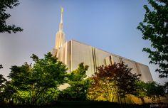 Image #97 - Jarvie Digital - Seattle LDS Temple at Sunset  We love Temples at: www.MormonFavorites.com