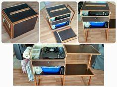 Meine Kampingküche / Chuckbox Viele Ideen aus dem Netz sind hier mit eingeflossen...