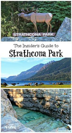 If you are looking for a place to truly unwind, and get a way from it all, Strathcona Park on Vancouver Island is the destination for you. Camping Places, Places To Travel, Camping Stuff, Camping Gear, Backpacking, Vancouver Travel, Vancouver Vacation, Visit Canada, Canada Trip