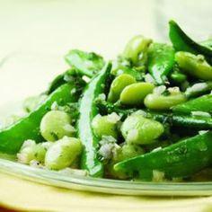 LIMA LOVE  1. super springy Eating Well recipe.  2. highlighting lima beans.  3. I like to get my limas at Whole Foods, canned or frozen.  4. easy peas-y (ha ha) recipe with lots o' green for clean, fresh spring eating.  #eatingwell #spring