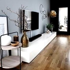Is To Me brings to you the essence of Scandinavian Design with soft furnishing, home accessories, gifts & more, we curate designs that become timeless classics! Living Room Tv Unit, Living Room Decor, Tv Wall Design, Apartment Interior Design, Scandinavian Home, Stores, Home Decor Inspiration, Decoration, Home Remodeling